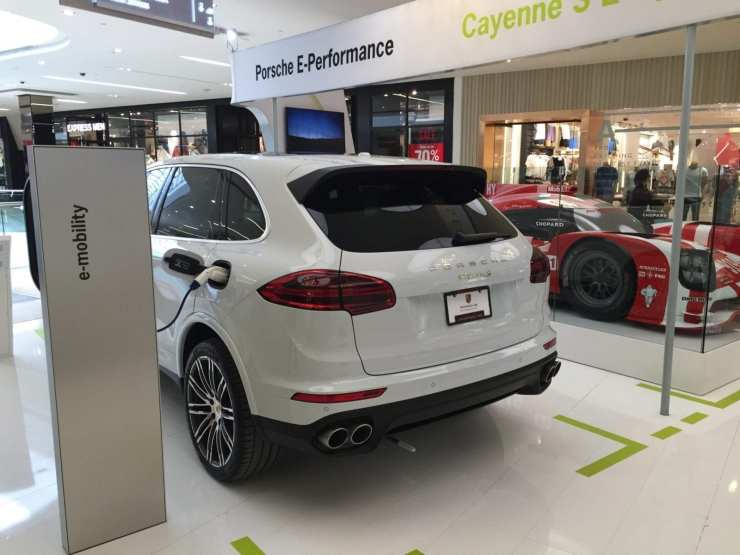 Cayenne rear quarter