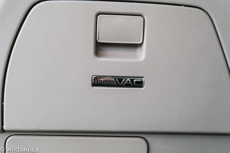 Honda Vac cover