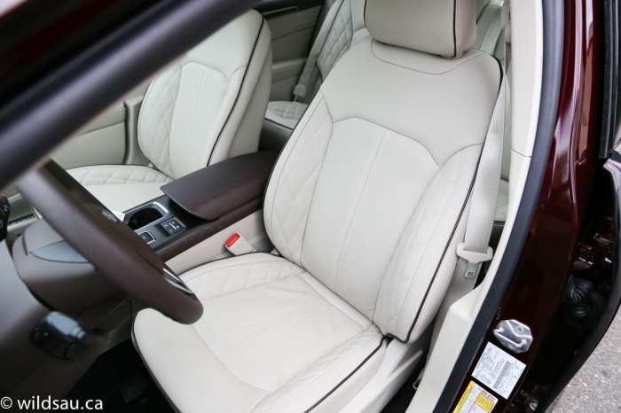 Platinum front seats