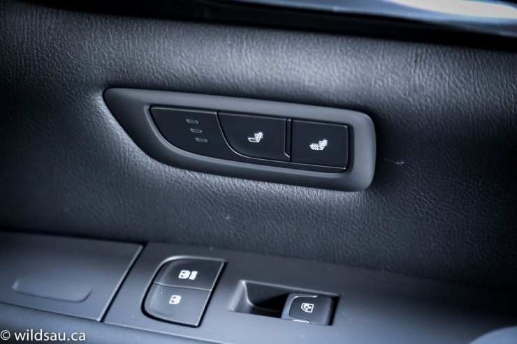 rear seat shade control