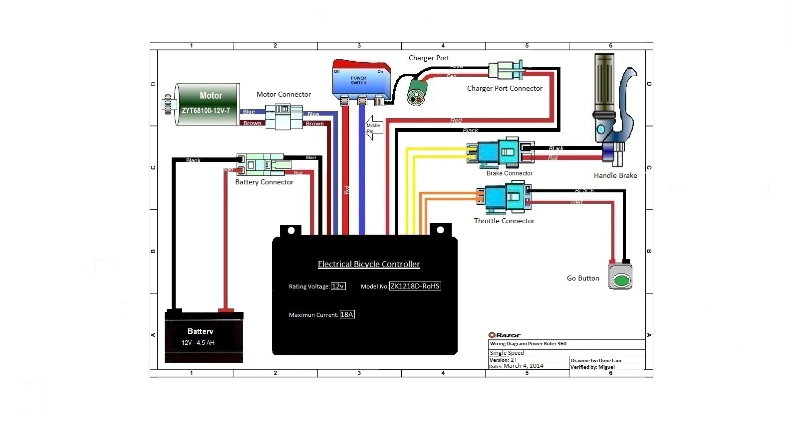 Power Wheels Dune Racer Wiring Diagram