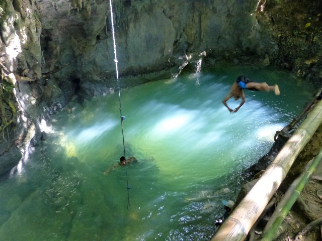 Tayangban Cave Pool in Pilar