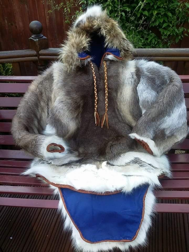 Arctic Parka Inuit style. made by Wild Spirit Bushcraft