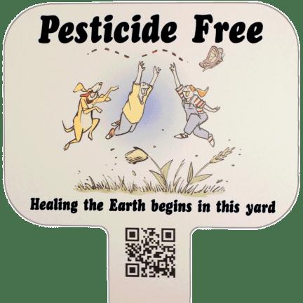 Pesticide-Free Yard Sign