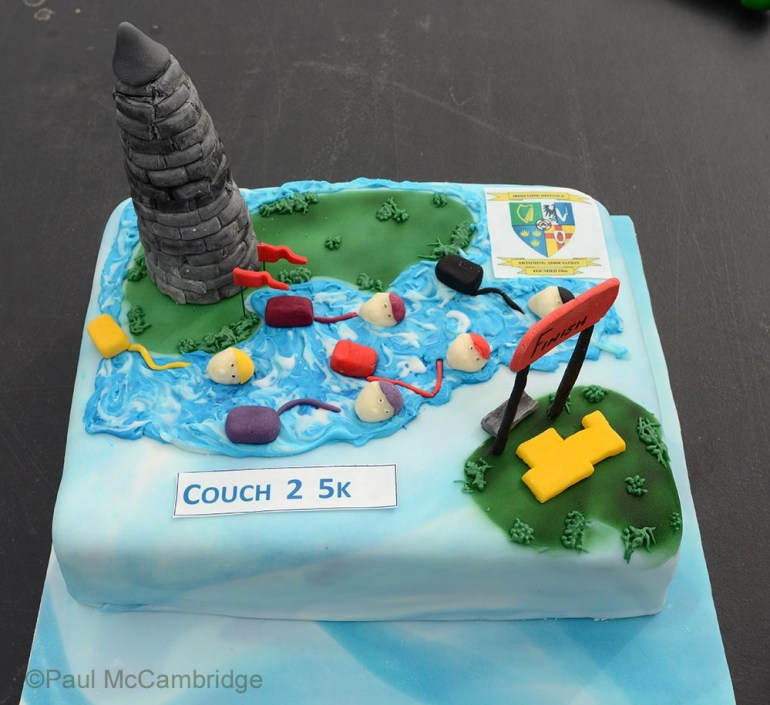 Couch to 5k Cake 1a