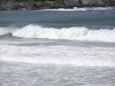 Breakers in Kiloran Bay