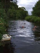 Canal swimming
