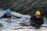 Lottie & Martin push thro the tide