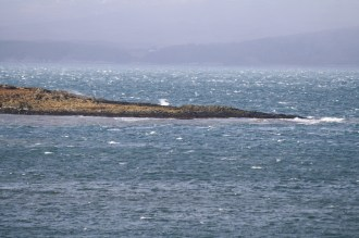 White waves in the Sound of Jura
