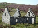 Deserted township, Colonsay