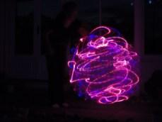 Hoop spins
