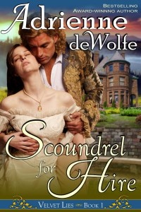 Historical Western Romance Novel, Velvet Lies