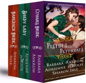 Historical Western Romance, anthology, bestsellers, Barbara Ankrum, Sharon Ihle, prequel to Devil in Texas