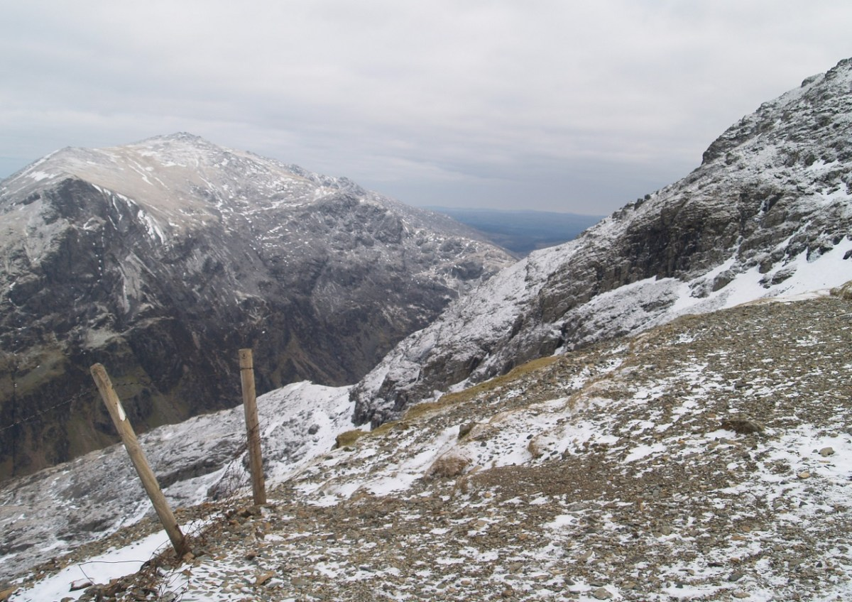 On the Llanberis Path in winter