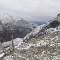 On the Llanberis Path in winter