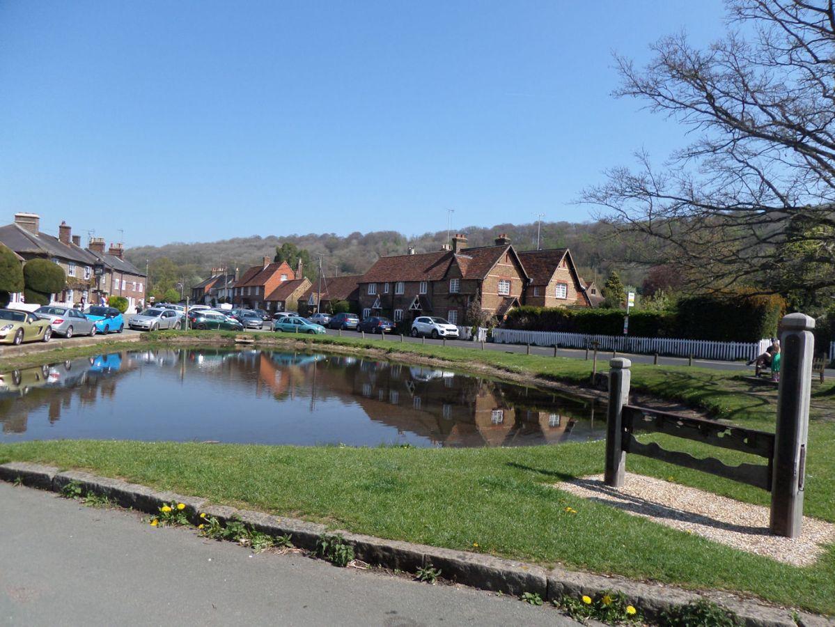Aldbury and the Bridgewater Monument