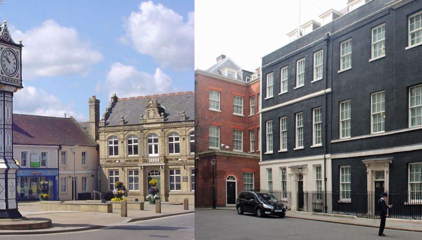 Downham Market and Downing Street
