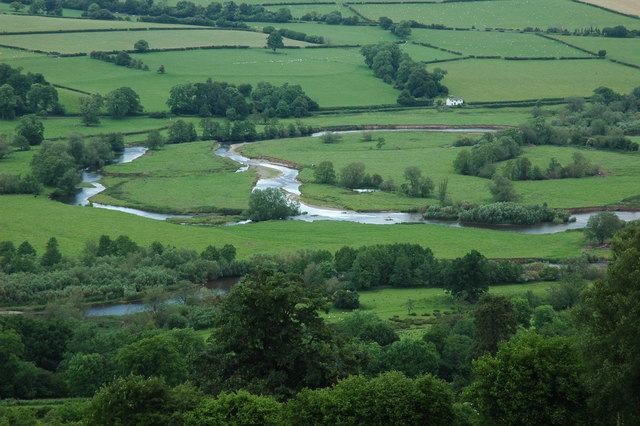 The Usk Valley to Brecon