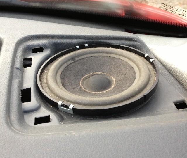 Upgrading VW Transporter T4 Speakers