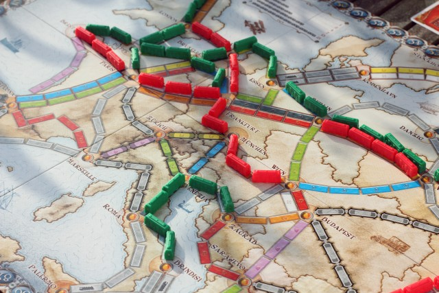 Boardgame Ticket to ride