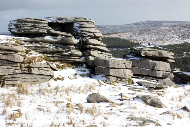 Dartmoor in the Snow & Big Balls Beanies
