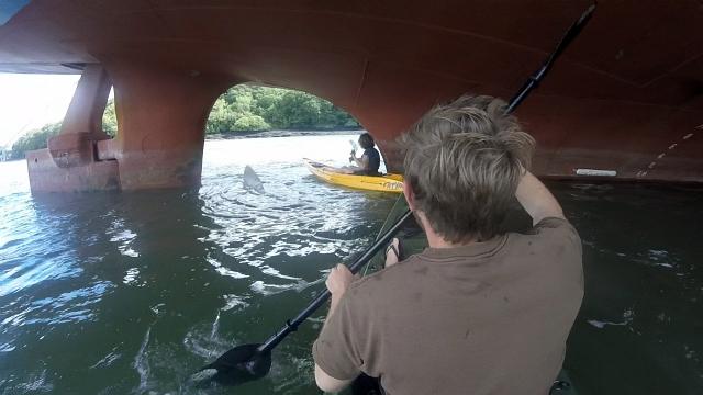 Ship Propeller Kayak