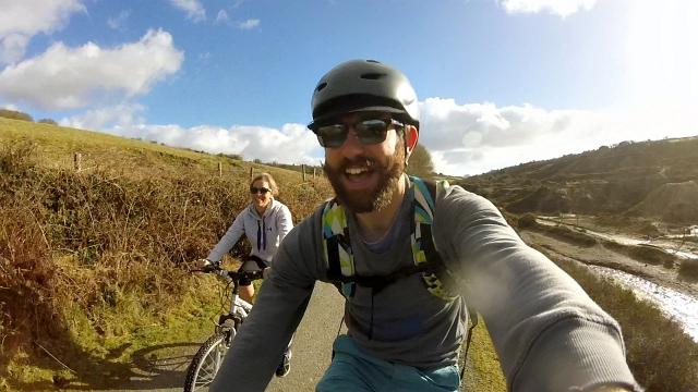 Bern Bike Helmet GoPro