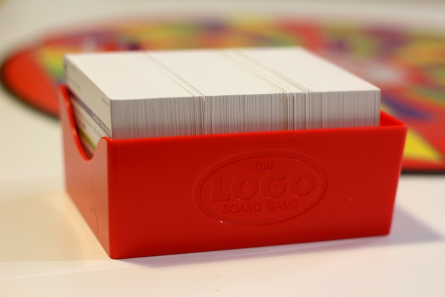 Logo Board Game Cards Box