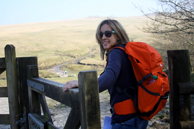 Quechua Forclaz 40 Air Hiking Backpack Review on Bodmin Moor