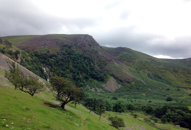 Aber Falls View From A Distance