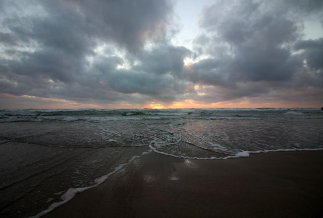 Cornwall beach sunset