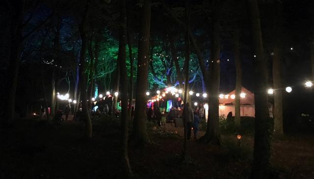 halloween-woods-tehidy-rogue-theatre
