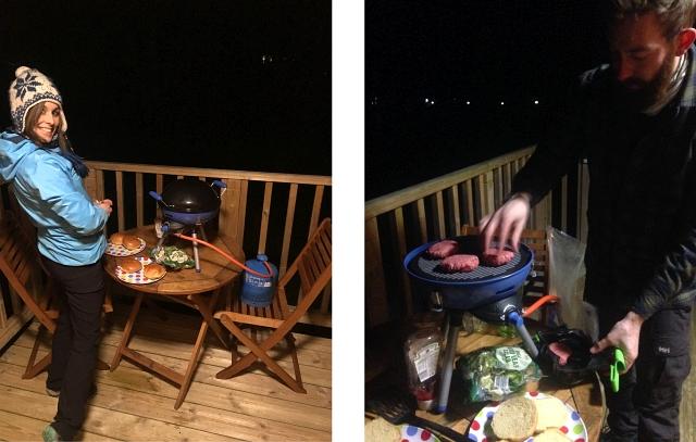 Pod Camping Keswick Cooking Decking