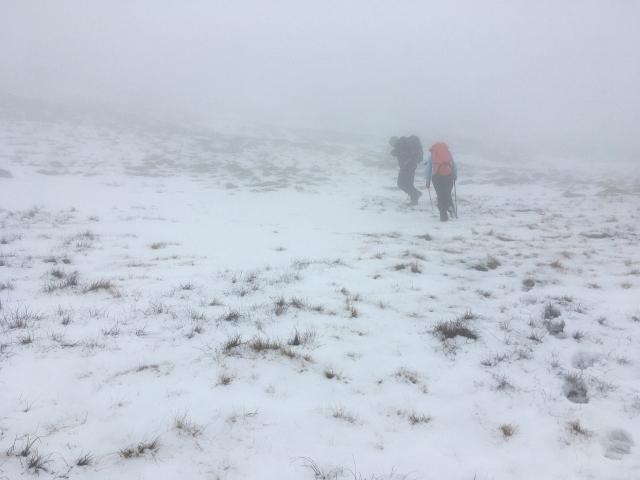 Snow Climbing Walking