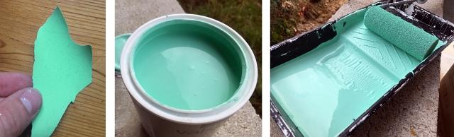 Mint Paint Match Sample