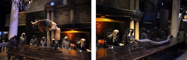 Slitherin Meeting Harry Potter Studio
