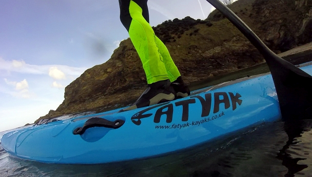 Fatyak Stand Up SUP Paddle Board Samos