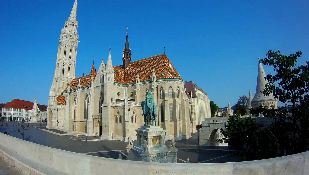 Fishermans Bastian Budapest Church