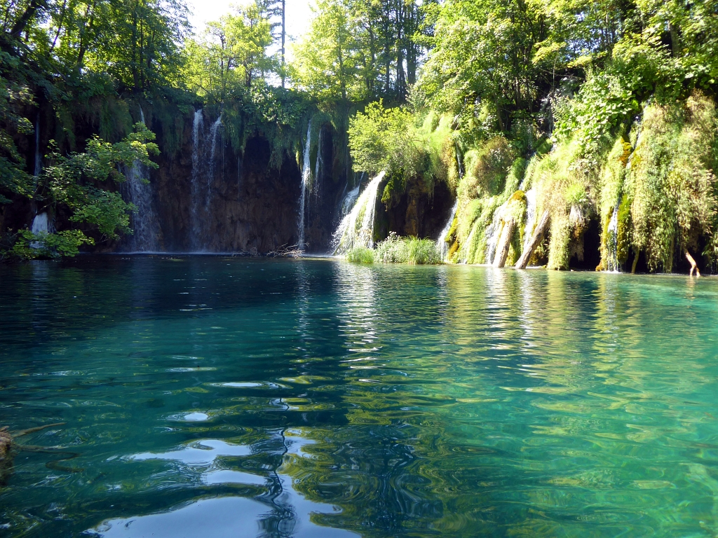 Plitvice Lakes Croatia Waterfall