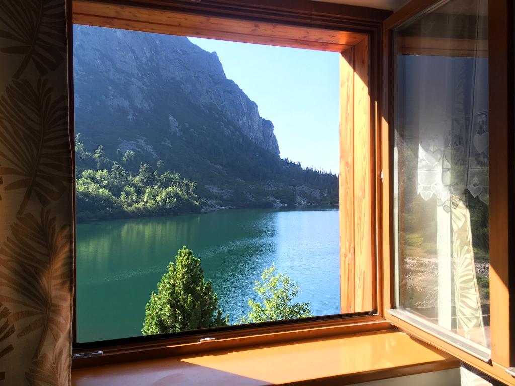 Popradské Pleso Horský Hotel window