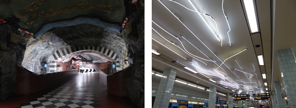 Stockholm Metro Art Underground