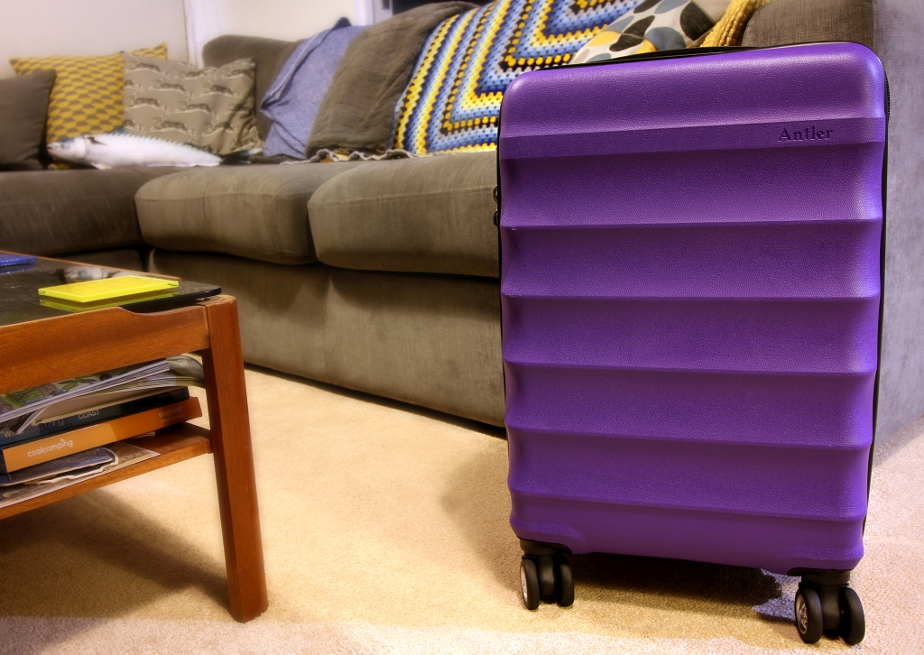 Carry on Juno Suitcase Antler