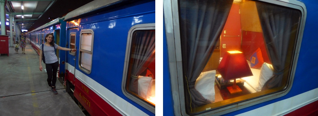 Chapa Express Sleeper Train Hanoi Sapa