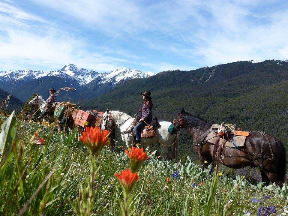 Chilcotin Cowgirl Riding Adventure