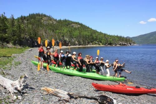 Day 3 - sea kayak on bonne bay