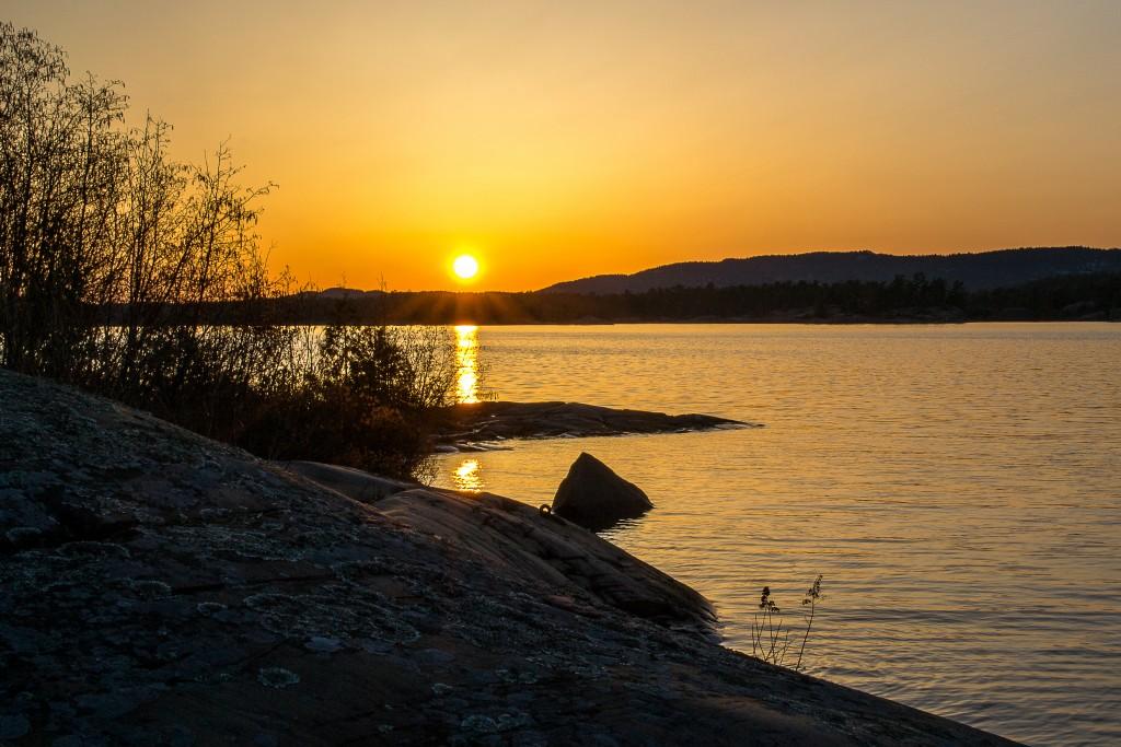 Georgian Bay Sunset - Kate Ming-Sun Outdoors