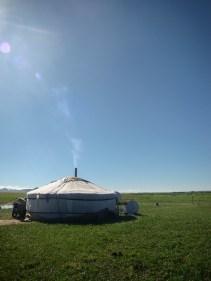 Mongolian tent (ger)