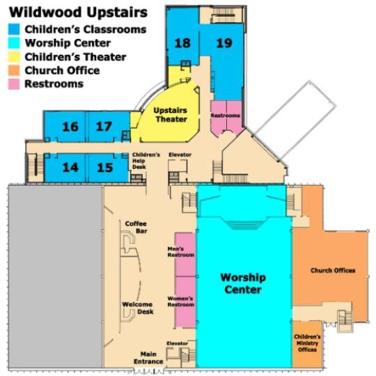 Wildwood Upstairs