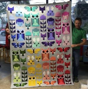 Win this quilt from McTavish Quilting Studio
