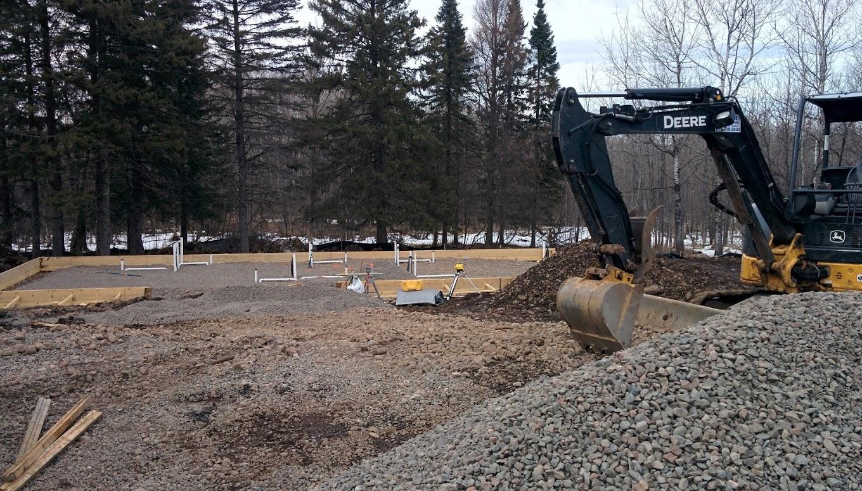 Construction begins at Wildwoods
